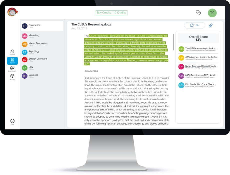 plagiarism checker online free large documents